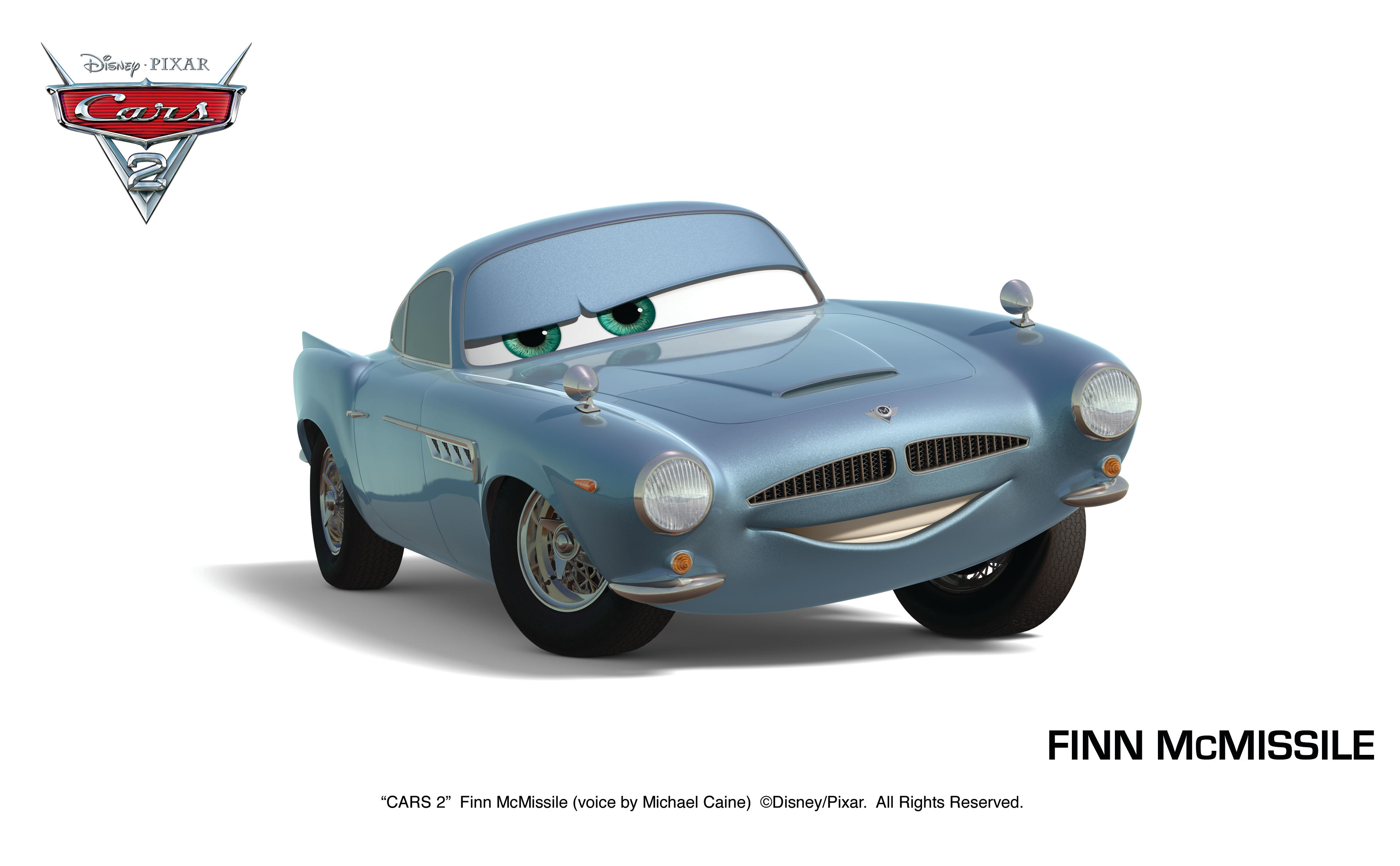Q Finn Mc Missile In Cars 2