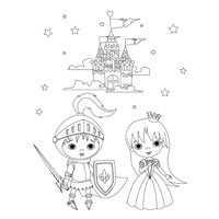 Knight, Princess and Castle