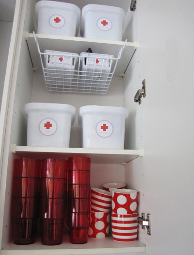 Organise your medicine cabinet